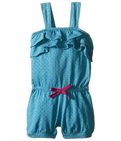 Roxy Kids - Sweet Dot Romper (Infant) (Lake Blue) Girl's Jumpsuit & Rompers One Piece