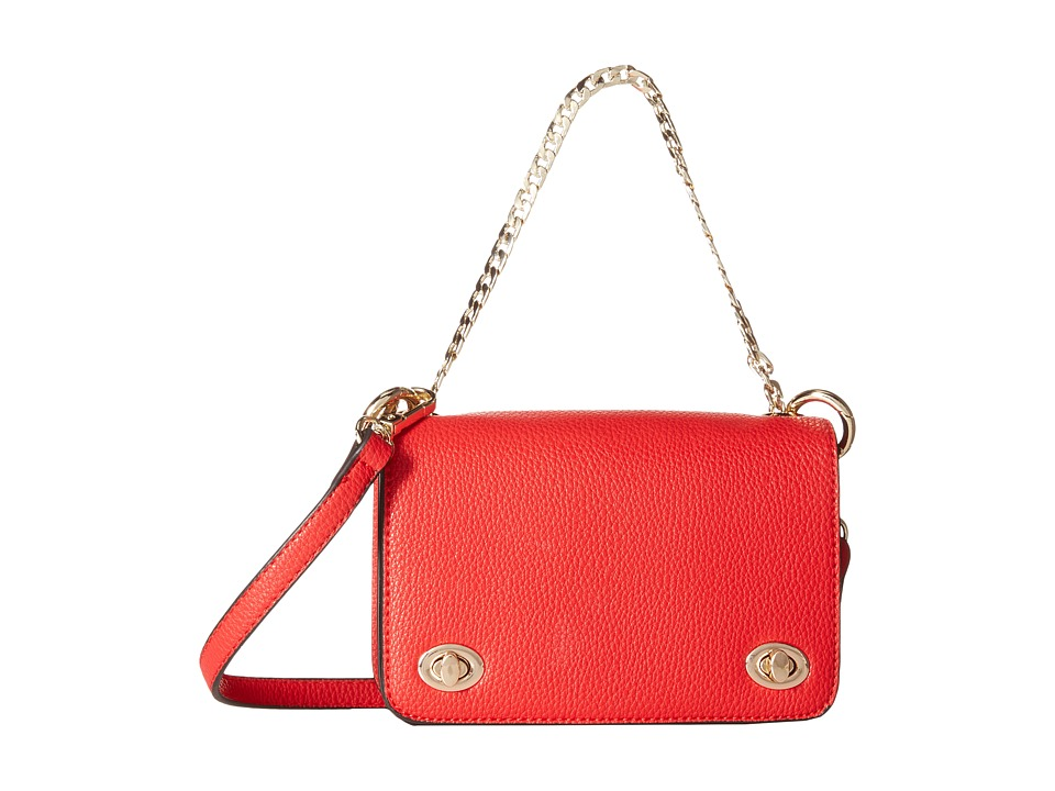 Gabriella Rocha - Marcella Mini Crossbody with Chain Detail (Red) Cross Body Handbags