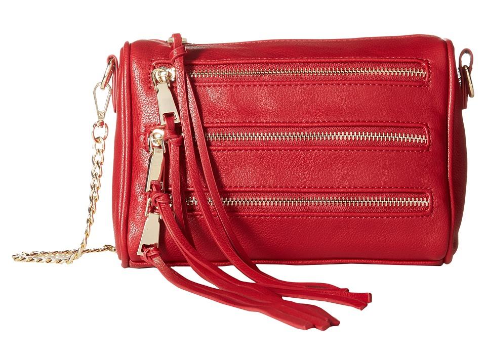 Gabriella Rocha - Maura Multi-Zipper Crossbody Purse (Red) Cross Body Handbags