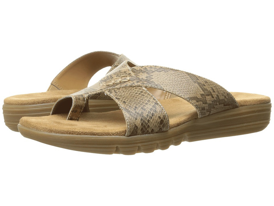 Aerosoles - Adjustment (Tan Snake) Women