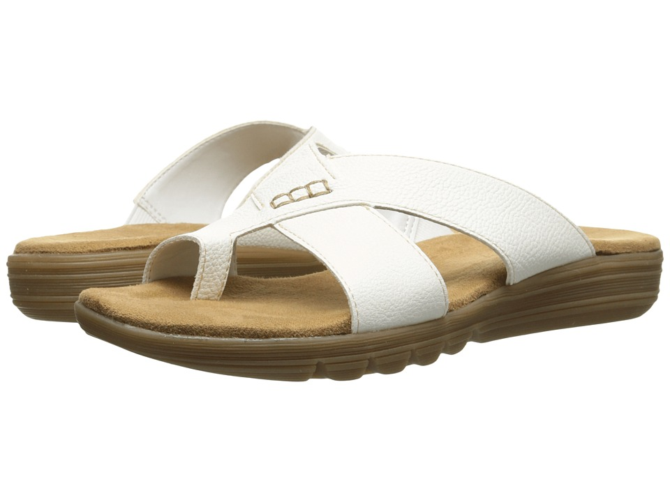 Aerosoles - Adjustment (White) Women's Sandals