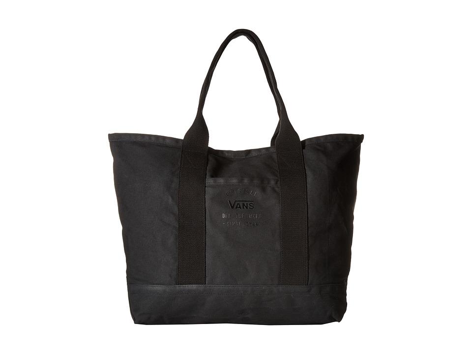 Vans - Here Today Large Tote (Black) Tote Handbags
