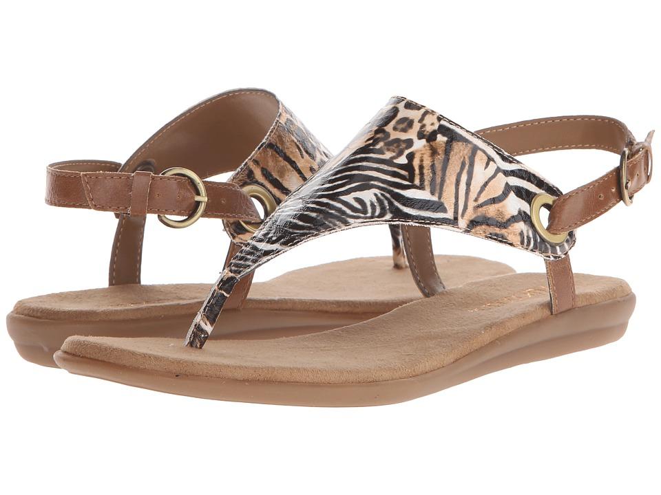 Aerosoles - Conchlusion (Safari Print) Women's Sandals