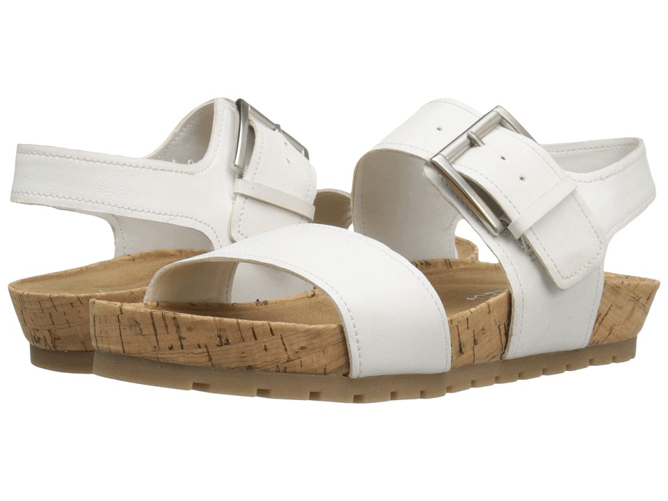 Aerosoles - Compass (White) Women's Sandals