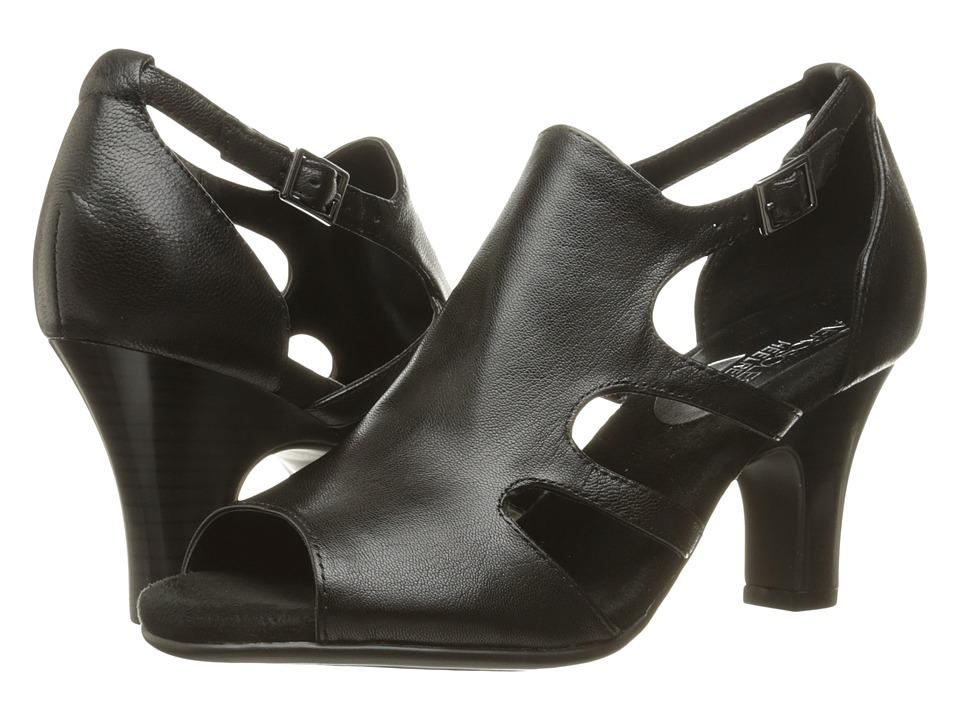 Aerosoles - Ginastics (Black Leather) High Heels