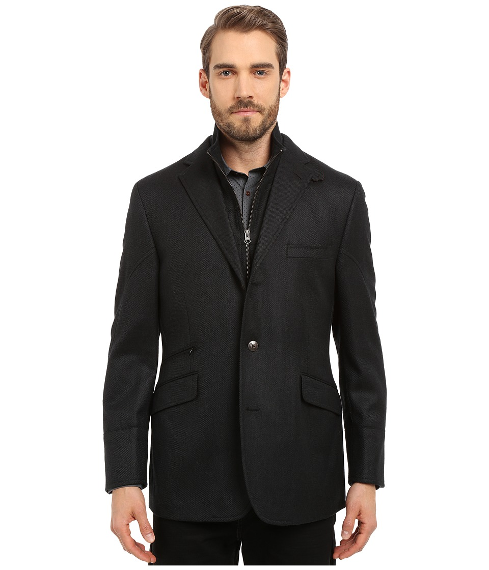 Kroon - Ritchie Hybrid Coat (Black) Men's Coat