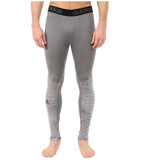 adidas - Team Issue Base Illuminated Tights (Vista Grey) Men
