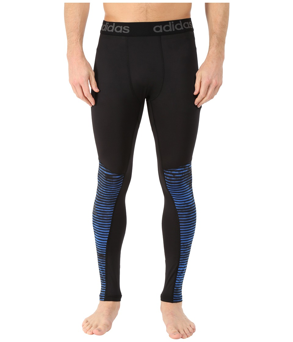 adidas - Team Issue Base Illuminated Tights (Black) Men's Workout