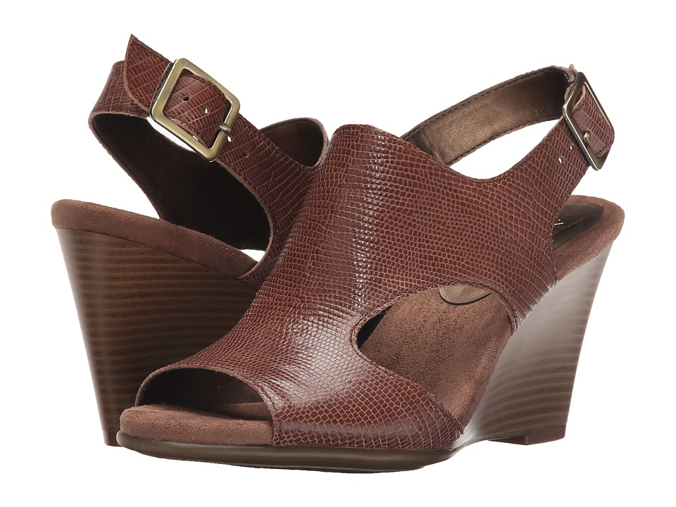 Aerosoles - Honey Blossom (Taupe Snake) Women's Wedge Shoes