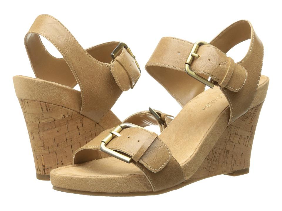 A2 by Aerosoles - Mega Plush (Tan) Women's Wedge Shoes