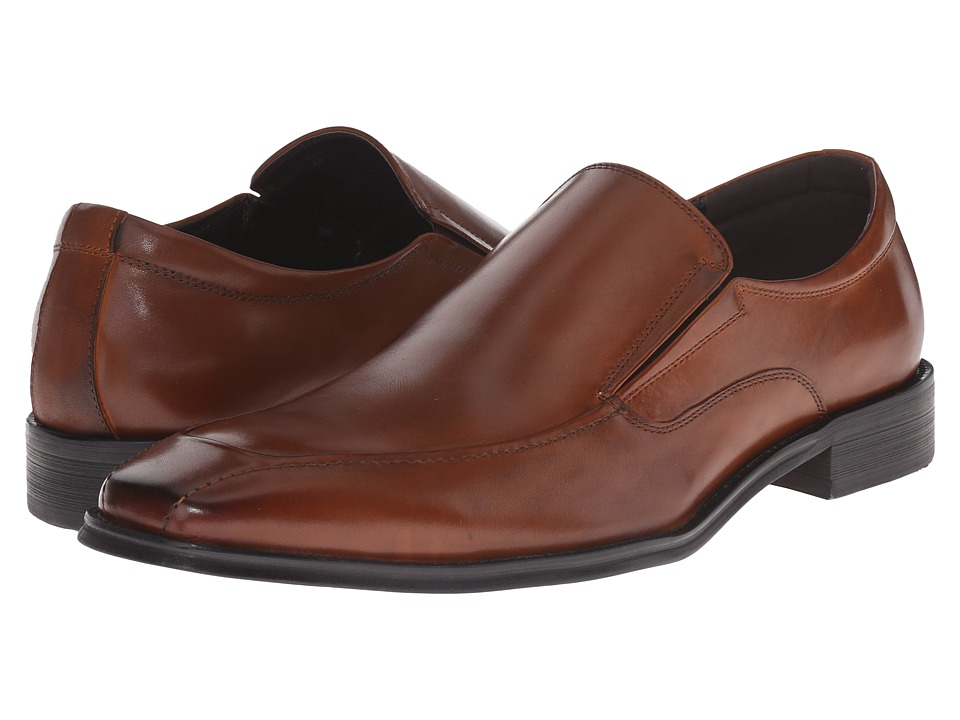 Kenneth Cole Reaction - Ref-Lex (Cognac) Men's Slip on Shoes