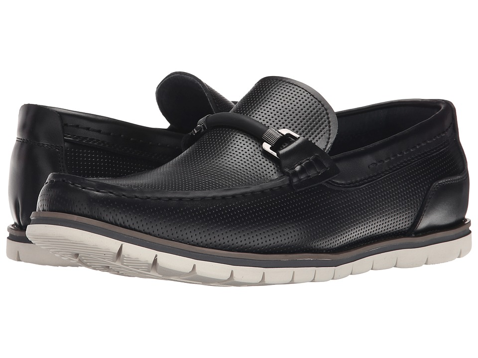 Kenneth Cole Reaction - Tampa Bay (Black) Men's Slip on Shoes