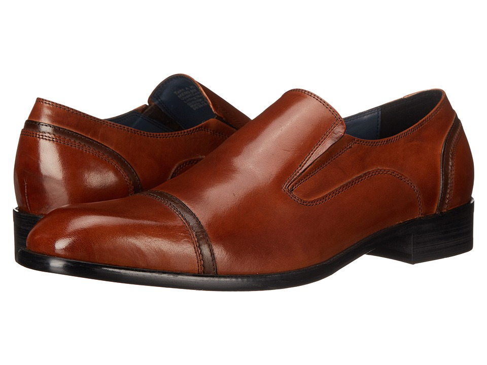 Kenneth Cole Reaction - Take A Hint (Cognac) Men's Slip on Shoes