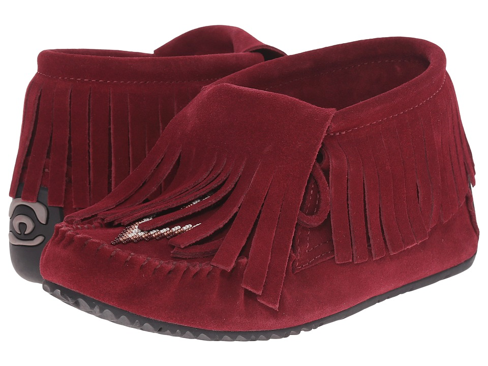 Manitobah Mukluks - Paddle Suede Moccasin Vibram (Rhubarb) Women's Boots
