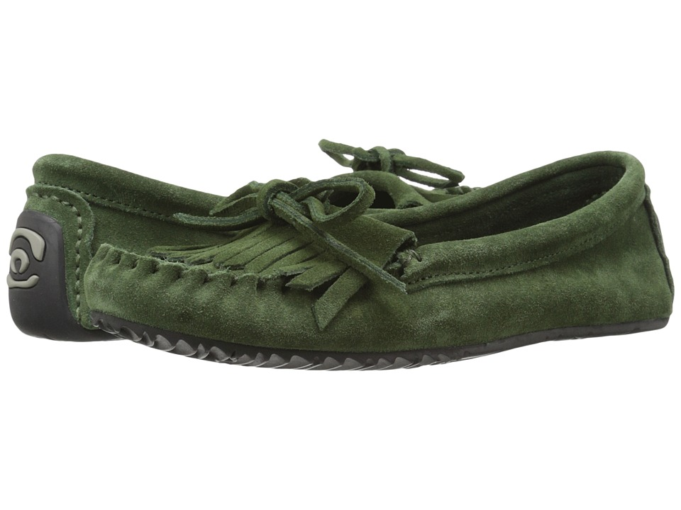 Manitobah Mukluks - Sunshine Moccasin (Moss) Women's Moccasin Shoes