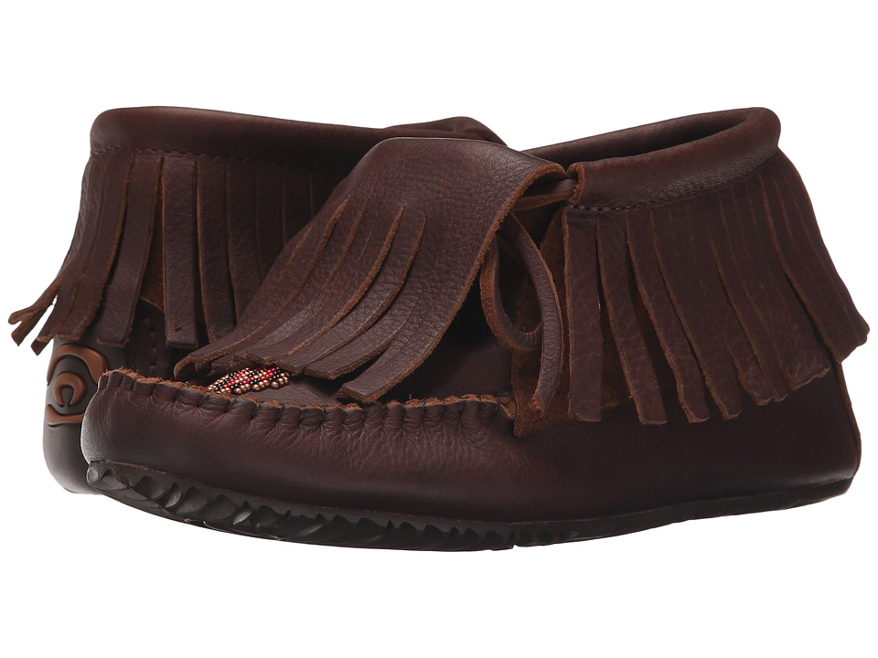 Manitobah Mukluks - Paddle Grain Moccasin Vibram (Cocoa) Women's Boots