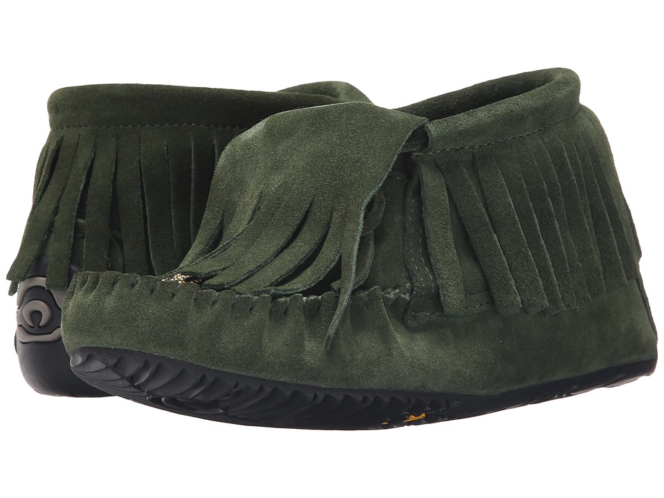 Manitobah Mukluks - Paddle Suede Moccasin Vibram (Moss) Women's Boots
