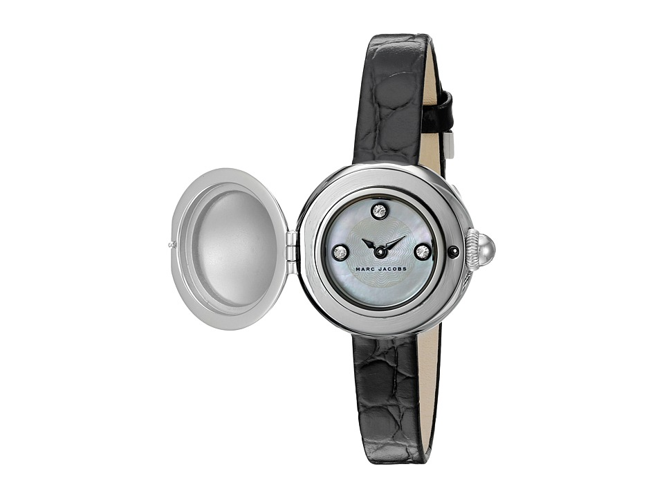 Marc Jacobs - Courtney - MJ1435 (Black Croco Strap) Watches