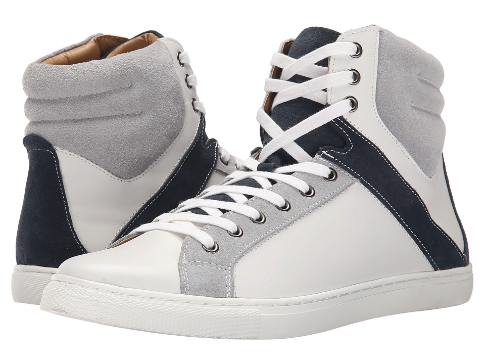 Kenneth Cole Reaction - Think I Can (White Combo) Men's Lace up casual Shoes