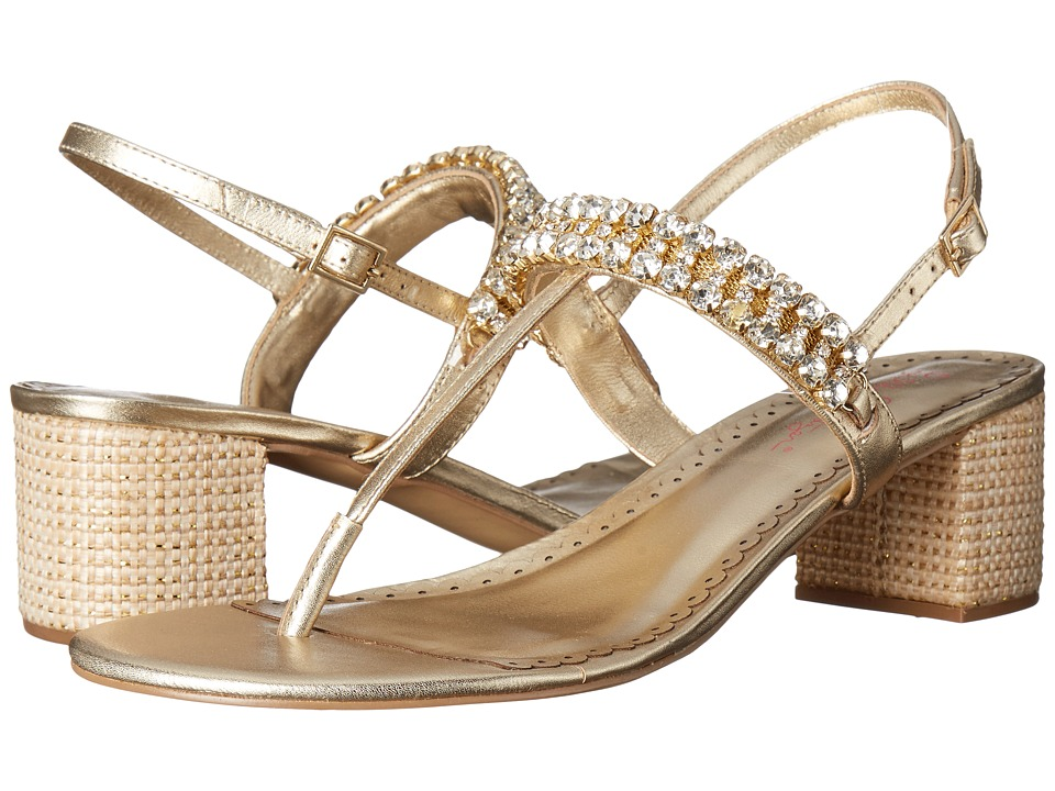 Lilly Pulitzer - Kelsey Sandal (Gold Metallic) Women