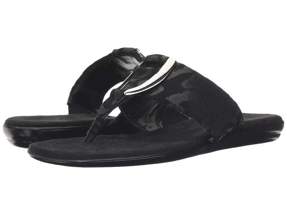 Aerosoles - Nice Save (Black Fabric) Women's Sandals