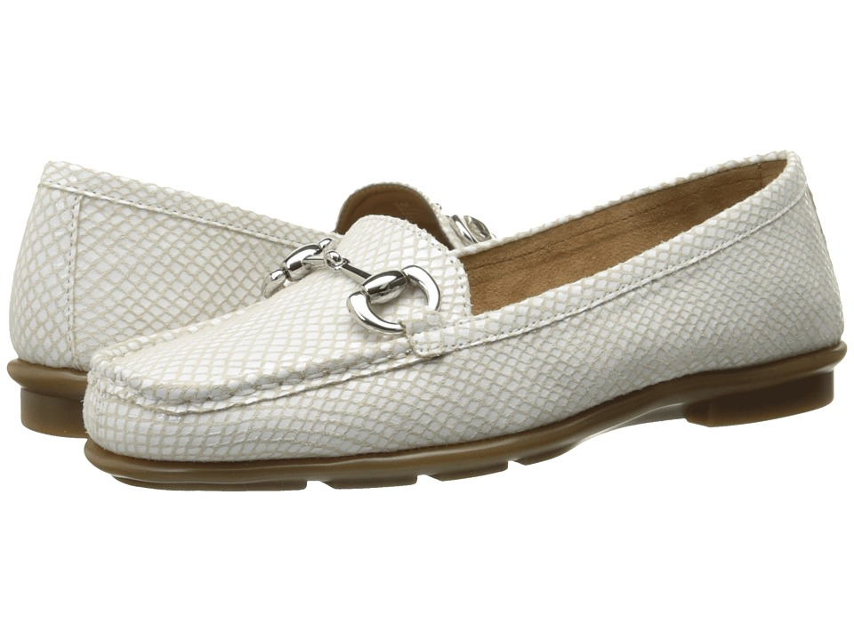Aerosoles - Nuwsworthy (White Snake) Women