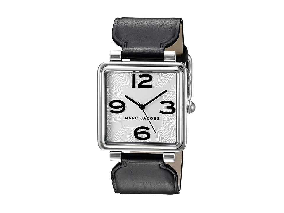 Marc Jacobs - Vic - MJ1439 (Stainless Case/Black Strap) Watches