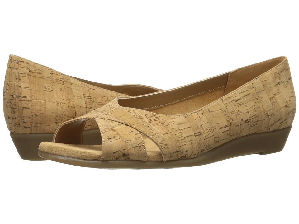Aerosoles - Silver Platter (Cork Combo) Women's Flat Shoes