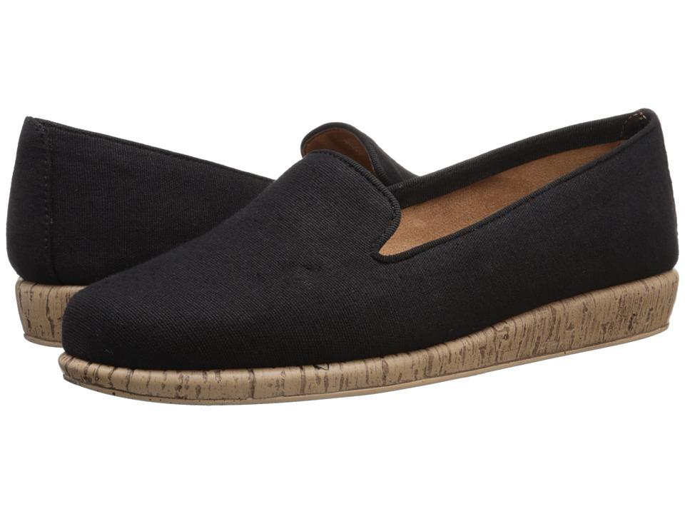 Aerosoles - Sunscreen (Black Fabric) Women's Flat Shoes