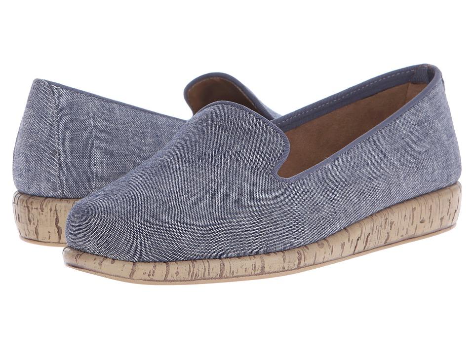 Aerosoles - Sunscreen (Blue Fabric) Women's Flat Shoes