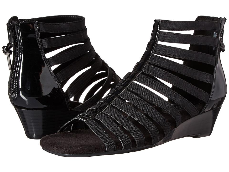 A2 by Aerosoles - Yet Plane (Black Patent) Women's Shoes