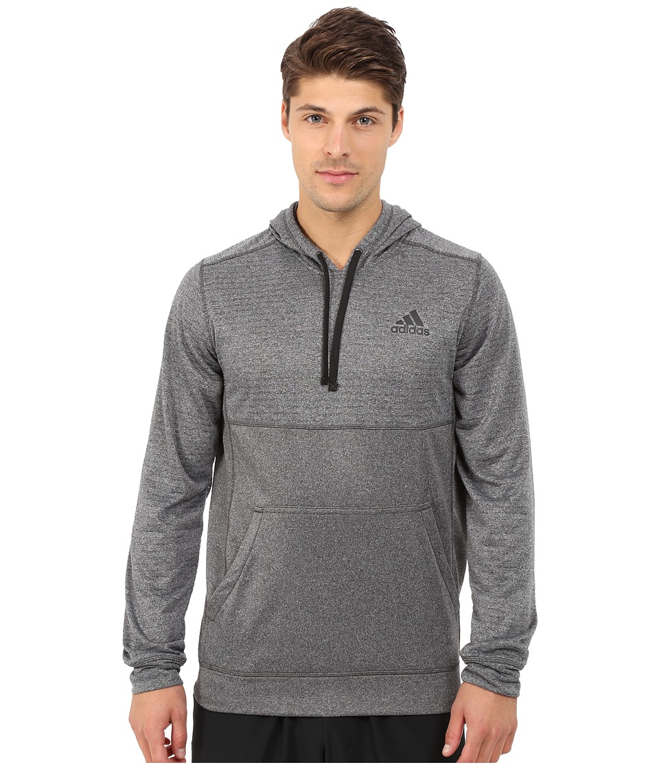adidas - Ultimate Fleece Pullover Hoodie Burnout (DGH Solid Grey) Men's Sweatshirt