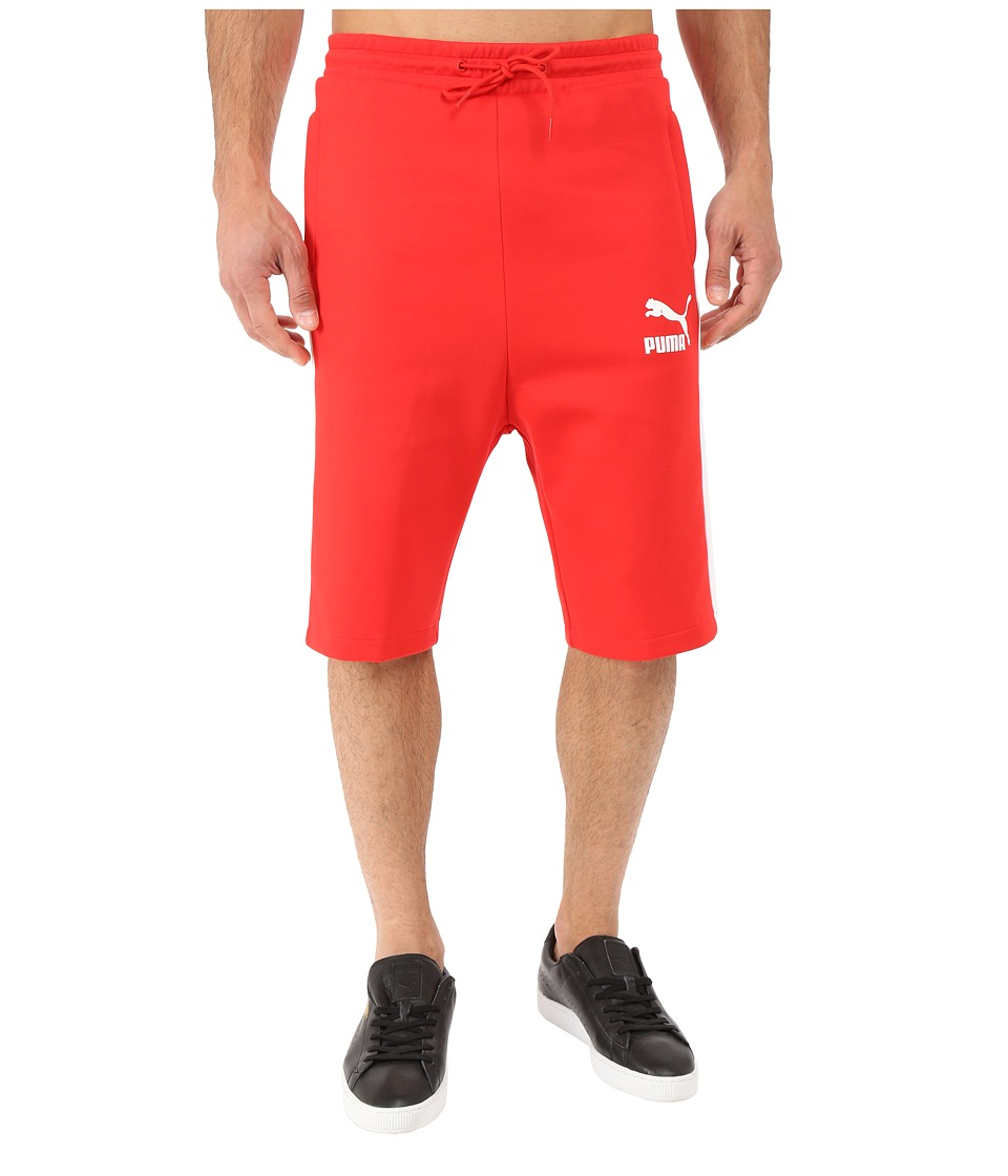 PUMA - Archive T7 Bermuda (High Risk Red) Men's Clothing