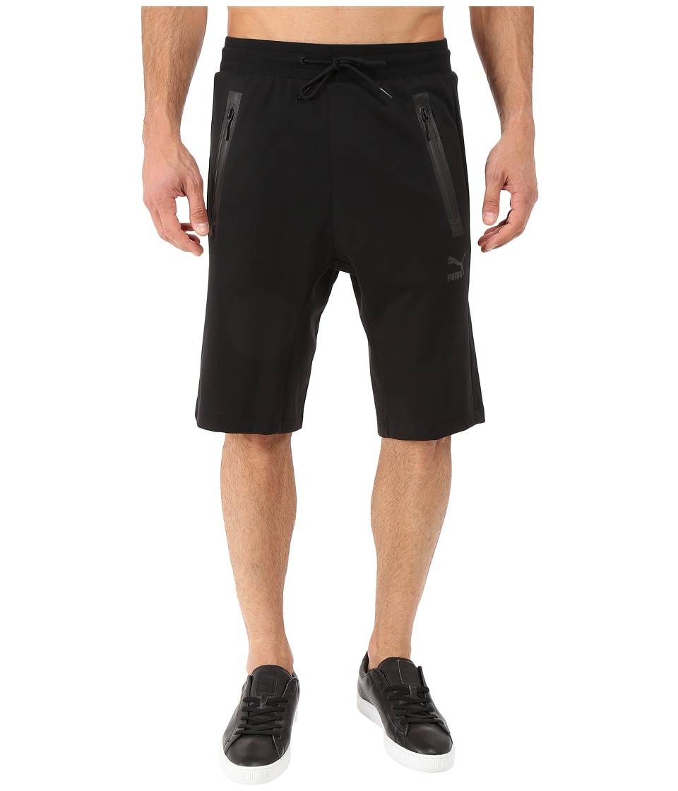 PUMA - Evo Sweat Bermuda (Black) Men's Clothing