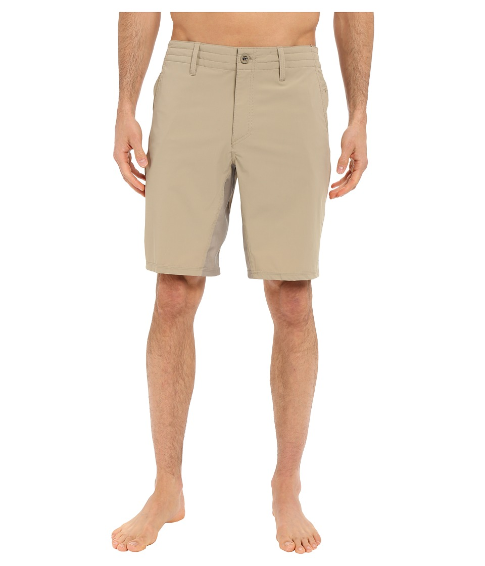 O'Neill - Traveler Chino Hybrid Short (Khaki) Men's Swimwear