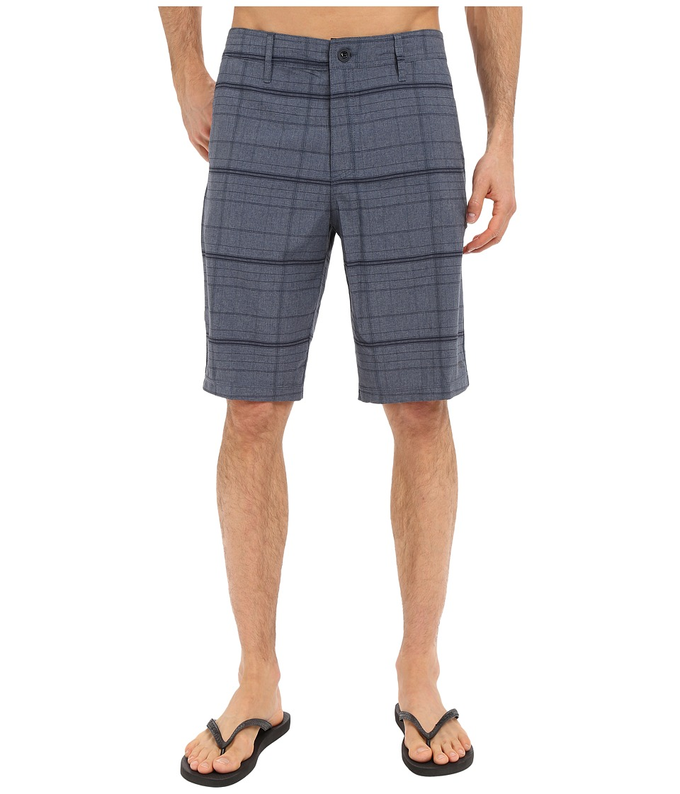 O'Neill - Hybrid Freak Plaid Short (Dark Navy) Men's Swimwear
