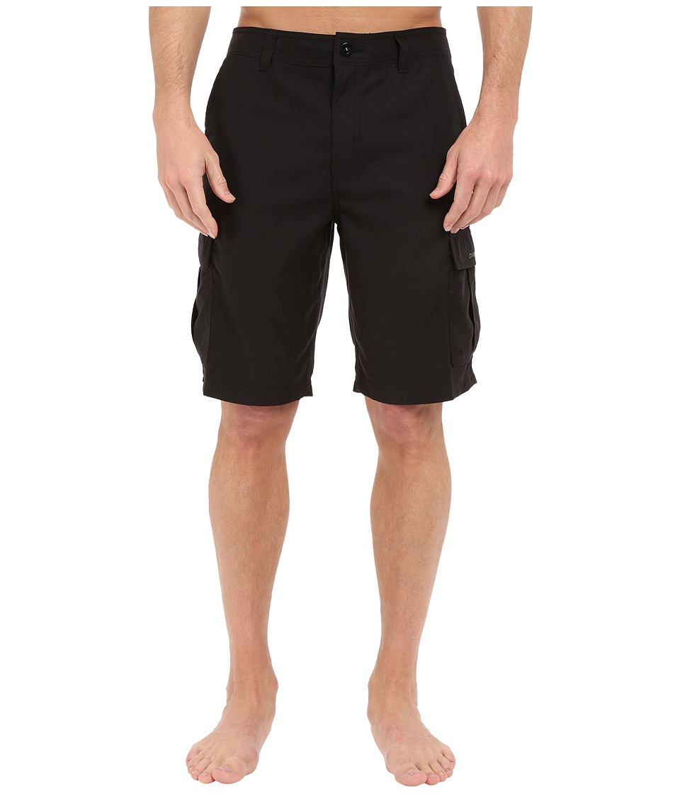O'Neill - Ranger Anti Moss Cargo Boardshorts (Black) Men's Swimwear
