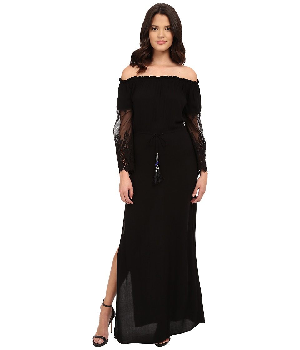 Young Fabulous & Broke - Nova Maxi (Black) Women's Dress