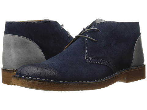 Kenneth Cole New York - Magic Number (Navy) Men's Lace-up Boots