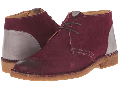 Kenneth Cole New York - Magic Number (Wine) Men's Lace-up Boots