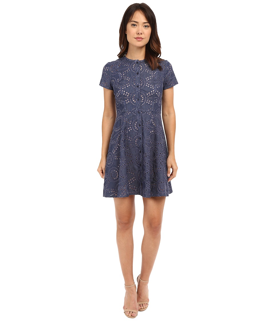 Shoshanna - Mika Dress (Denim) Women's Dress