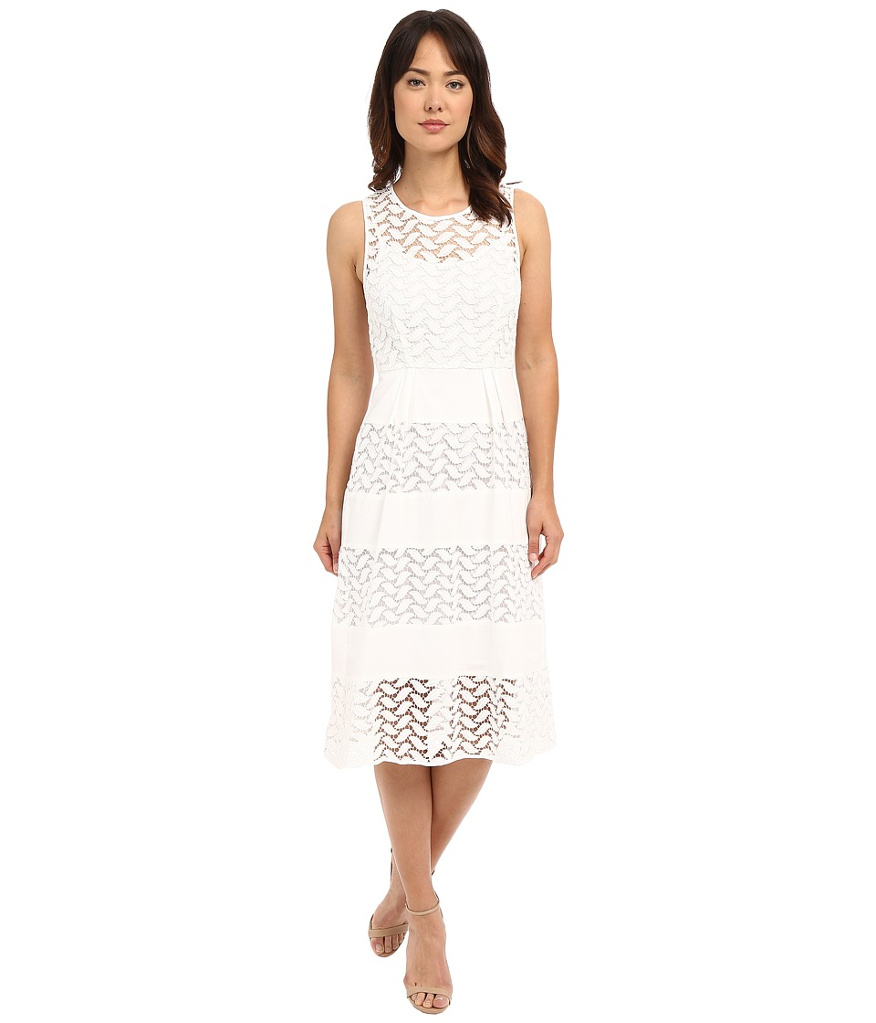 Shoshanna - Monica Dress (White) Women's Dress