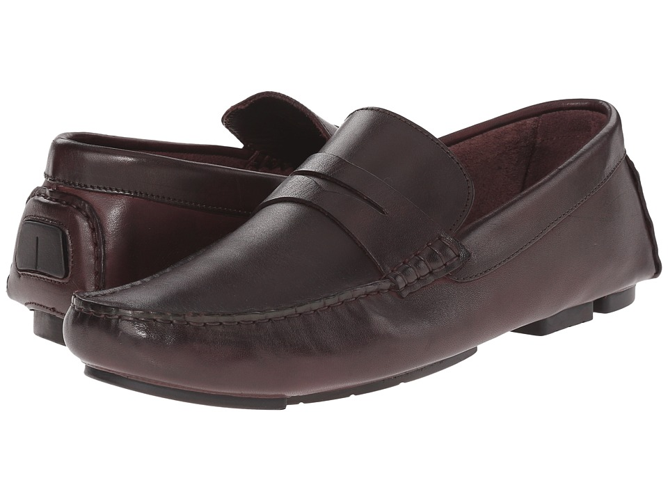 Kenneth Cole New York - Clean Sweep (Bordo) Men's Slip on Shoes