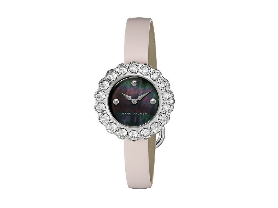 Marc Jacobs - Tootsie - MJ1443 (Black Mother-of-Pearl Dial/Pale Pink Patent Strap) Watches