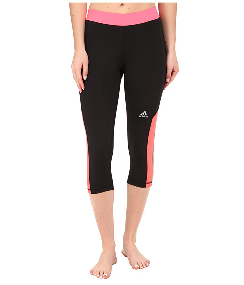 adidas - Techfit Capri Tights (Black) Women's Capri