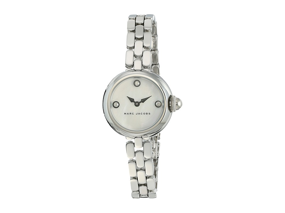 Marc Jacobs - Courtney - MJ3459 (White Mother-of-Pearl Dial/Stainless Steel) Watches