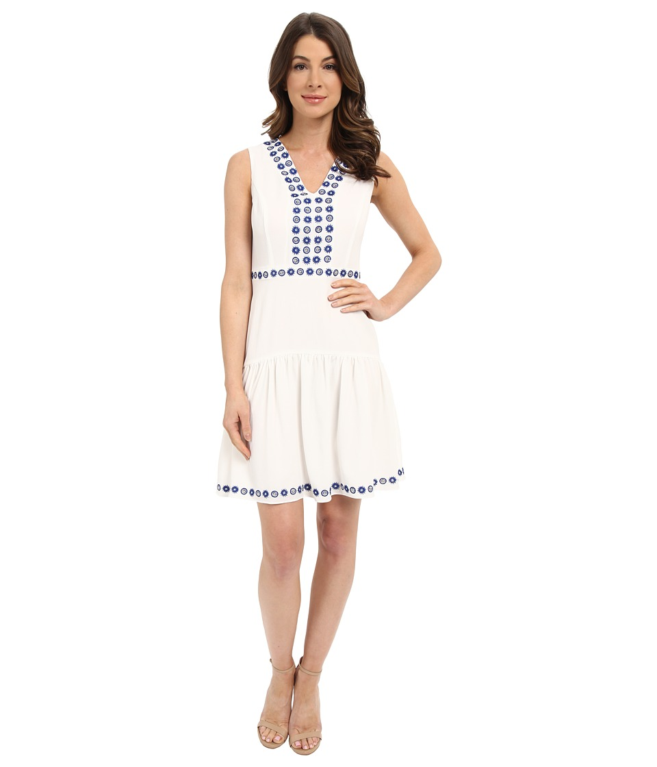 Shoshanna - Isabel Dress (White) Women's Dress