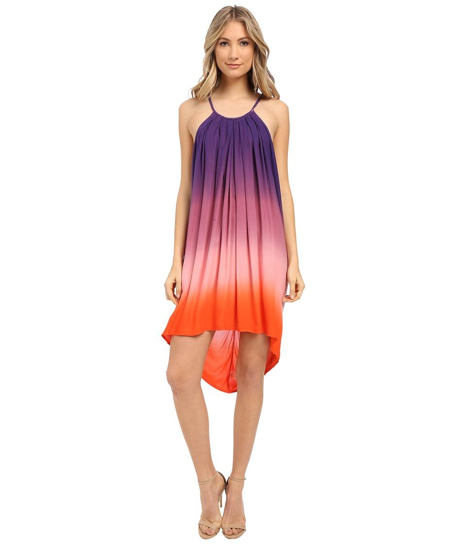 Young Fabulous & Broke - Adalade Dress (Purple Ombre) Women's Dress