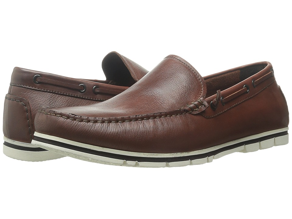 Kenneth Cole New York - Instant Hit (Cognac) Men's Slip on Shoes