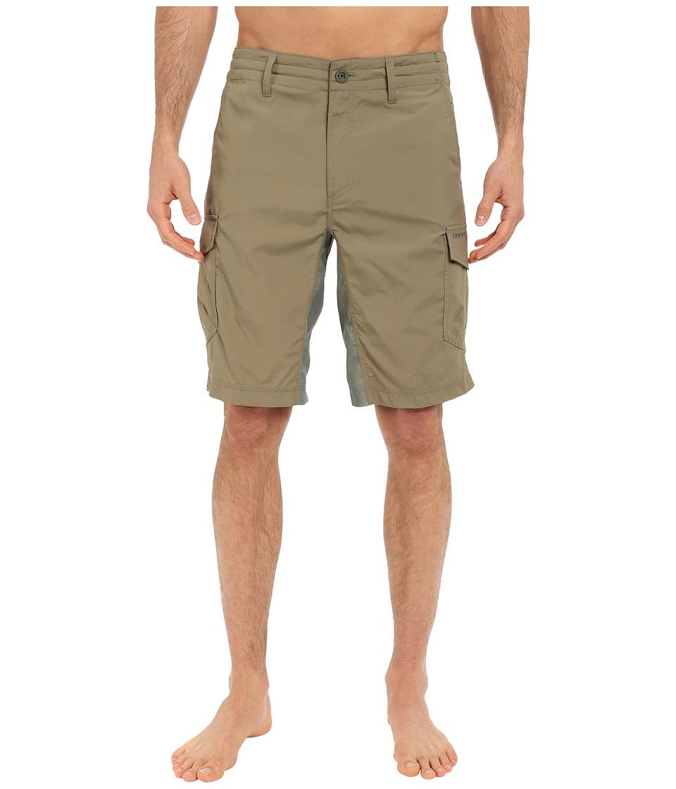 O'Neill - Traveler Cargo Hybrid Short (Olive) Men's Swimwear